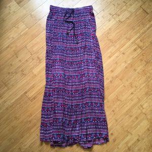 Urban Outfitters Purple Maxi Skirt/Dress